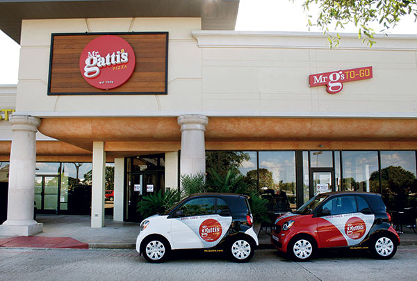 Mr Gattis exterior smart cars