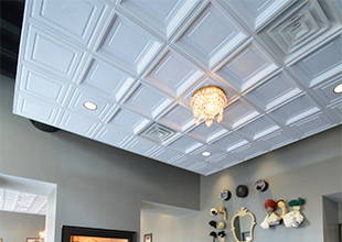 Ceilings Add Flavor To Restaurants