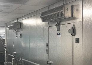 Berner Low profile Air Curtains