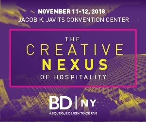 BDNY: The Creative Nexus of Hospitality. November 11-12, 2018. Jacob K. Javits Convention Center, New York City.