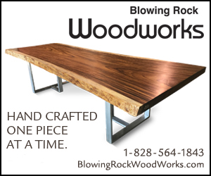 Blowing Rock Woodworks. Handcrafted one piece at a time. Call us at 1-828<span>-564</span>-<span>1843</span> or visit our website to find out more.