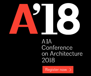 AIA Conference on Architecture 2018. Register now.