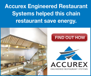 Accurex Engineered Restaurant Systems helped this chain restaurant save energy. Find out how.