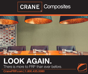 CRANE Composites: Look Again. There is more to FRP than ever before.
