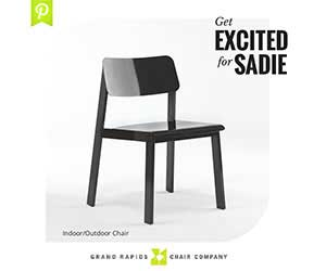 Grand Rapids Chair Company: Get excited for Sadie