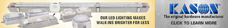 KASON: Our LED lighting makes walk-ins brighter for less