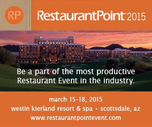 RestaurantPoint 2015 - March 15-18 - Westin Kierland Resort & Spa - Scottsdale, AZ