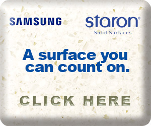 Samsung Staron Solid Survaces.