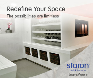 Staron- Redefine Your Space. The possibilities are limitless