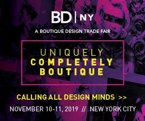 BDNY, A Botique Design Trade Fair. November 10-11, 2019, New York City. Uniquely Completely Unique. Calling all desgn minds.
