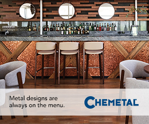 Chemetal. Metal designs are always on the menu. Find out more.