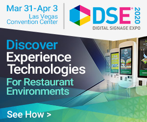 Digital Signage Expo. 2020. March 31-April 3, Las Vegas Convention Center. Discover Experience Technologies For Restaurant Environments. See How.