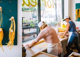 Tortello's Design Celebrates the Pasta Process