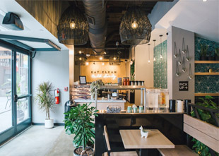 DIRT Offers Surprises, Creative use of a Narrow Space