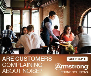 Are Customers Complaining About Noise? Get help from Armstrong Ceiling Solutions.