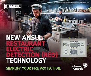New Ansul Restaurant Electric Detection (RED) Technology. Simplify your fire protection.