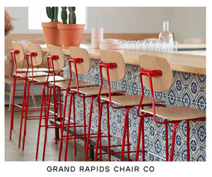 Grand Rapids Chair Company. See our Reece Barstool.
