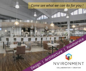 NVIRONMENT Design, Architecture, Foodservice. Come see what we can do for you!