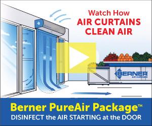 Berner PurAir Package: Watch How Air Curtains Clean Air
