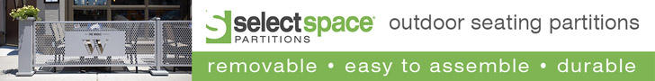SelectSpace Outdoor Seating partitions. removable, Easy to assemble, Durable. Learn more.