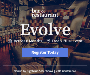 Bar and Restaurant Show. Evolve, across six months. Free virtual event. Register today.