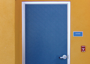 Clean, Durable Anti-Microbial FRP Doors by Special-Lite