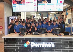 Domino's Pizza Opens First Kosovo Store