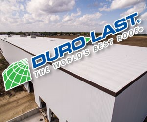 Duro-Last, The World's Best Roof. Find out more.