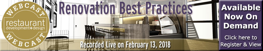 rd+d Renovation Webcast - watch now on demand
