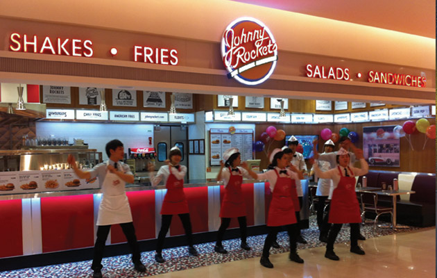 Johnny Rockets in Asia