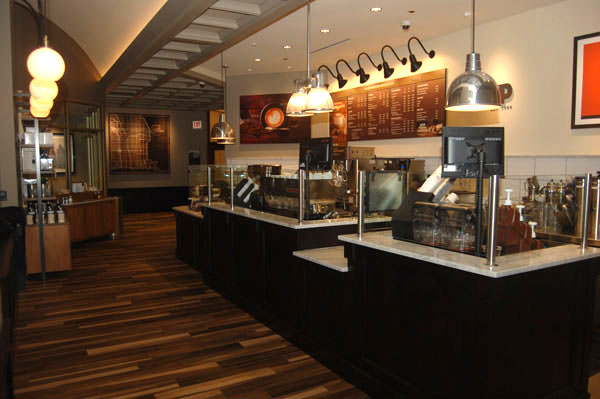 Peets Coffee & Tea  Interior