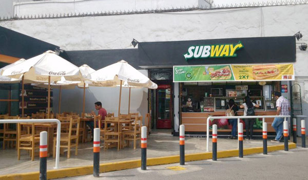 Subway in Lima, Peru
