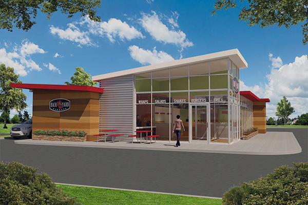 rd+d - Back Yard Burgers Unveils Redesign Plans