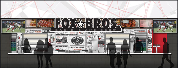 Falcons Fox Bros Rendering