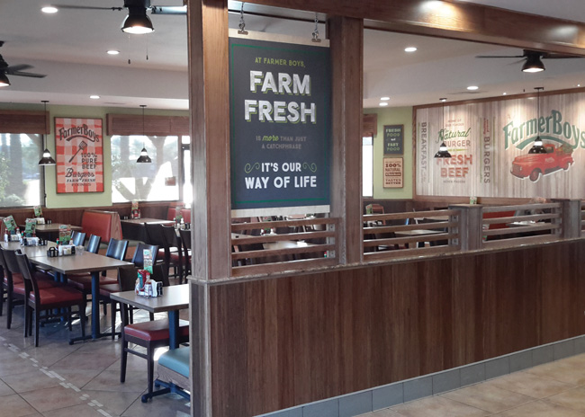 farmer boys interior