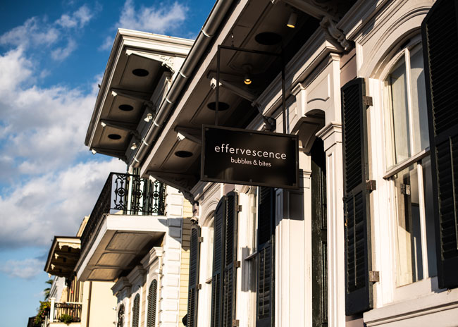 The exterior of effervescence in New Orleans