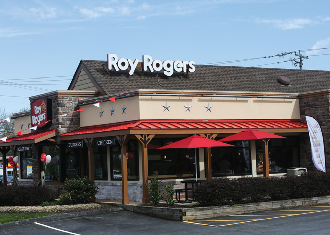 Roy Rogers Tests New Store Design
