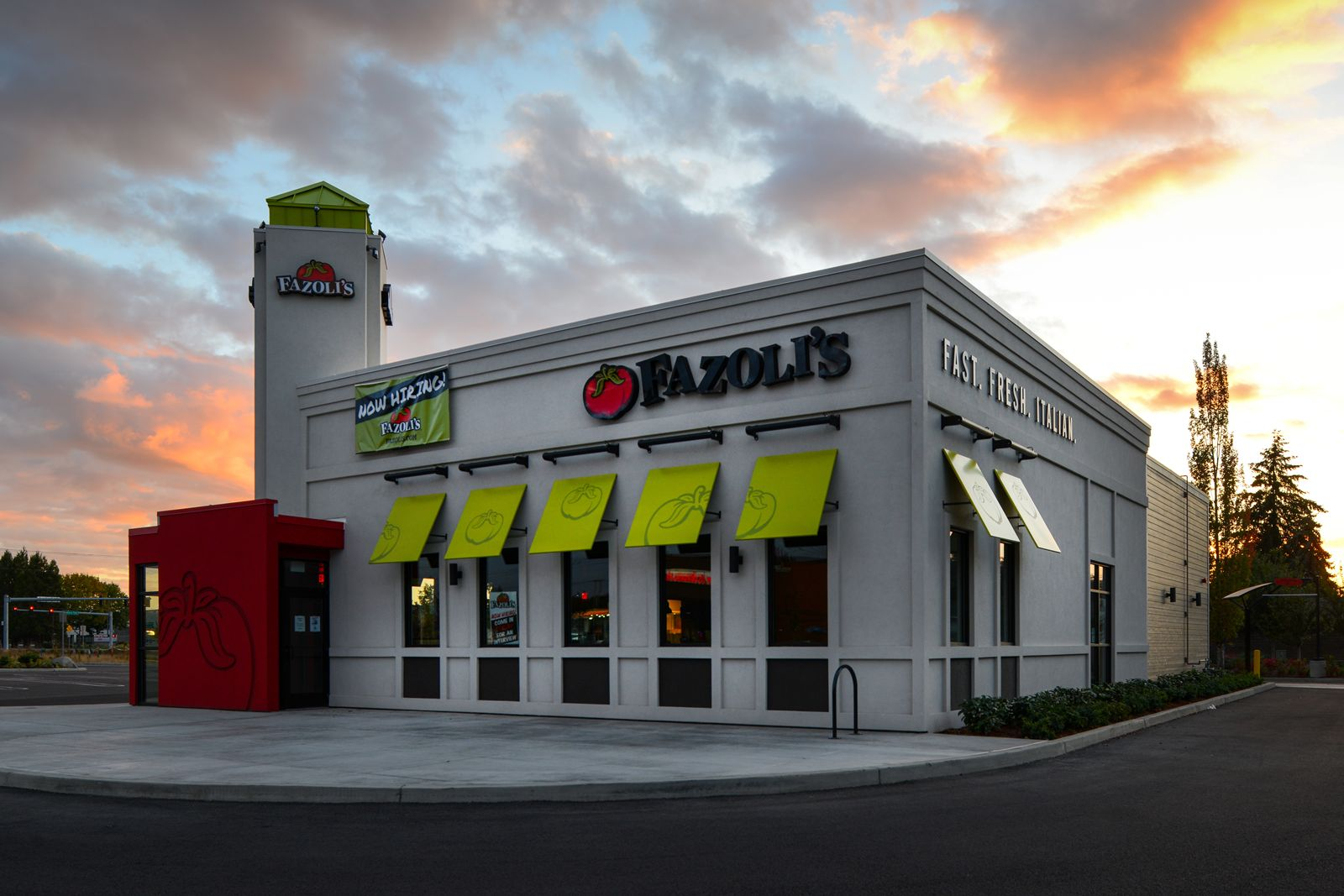 Fazolis New Restaurant Design Paves the Way for the Future