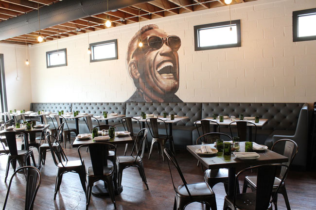 The Ray Charles Room at Rocca in Baton Rouge, La.
