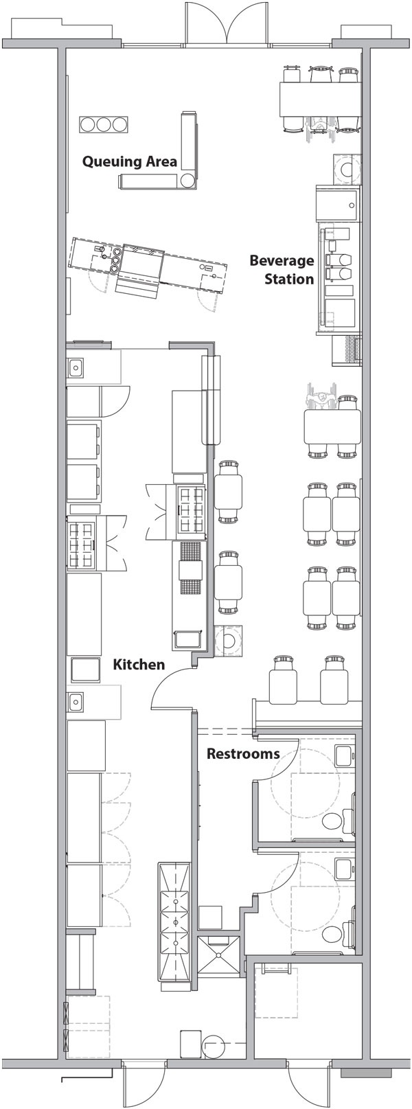 Firehouse floor plan