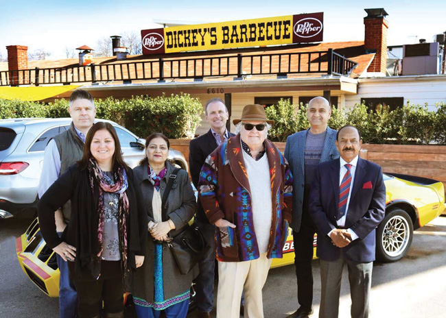 dickeys to open first american barbecue franchise in pakistan