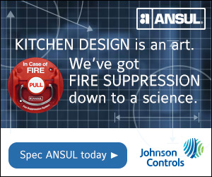 ANSUL By Johnson Controls. Kitchen Design is an Art. We've got Fire Suppression down to a science. Spec Ansul today.