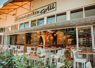 Avocado Grill's Second Location Offers Light, Playful Space