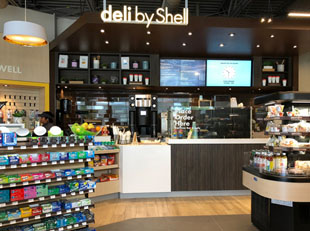 New Shell Select C-Store Design Has a Food Focus