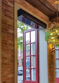 Berner Air Curtains For Comfortable Sustainable Restaurants